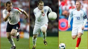 Уэйн Руни сравнялся с Дэвидом Бекхэмом по количеству матчей за сборную Англии