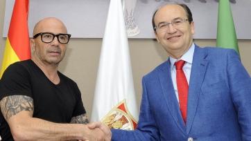 Официально: Сампаоли стал тренером «Севильи»