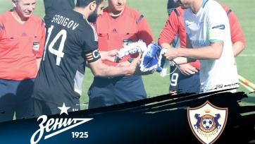 «Зенит» проиграл в товарищеском матче чемпиону Азербайджана