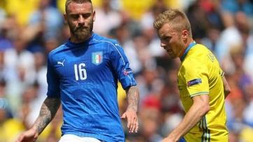 Де Росси и  Кандрева могут пропустить матч с немцами из-за травм