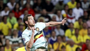 Вертонген выбыл до конца Евро-2016