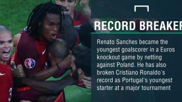 Ренату Саншеш побил сразу два рекорда, в том числе и Роналду