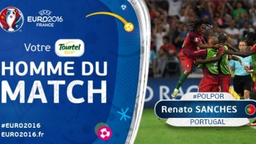 Ренату Саншеш – лучший игрок матча между поляками и португальцами