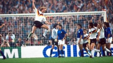 Десятое июня 1988-го года. Андреас Бреме сравнивает счёт в матче между ФРГ и Италией спустя четыре минуты после того, как Роберто Манчини вывел итальянцев вперёд