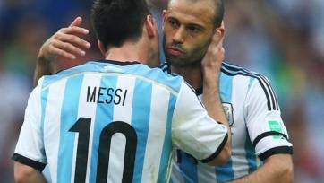 Маскерано не знает продолжать ли ему международную карьеру или нет