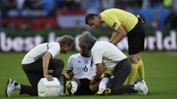 Хедира и Гомес рискуют пропустить полуфинал Евро
