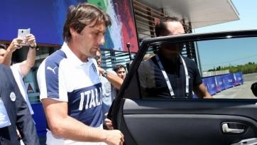 Конте: «Надеюсь, Вентура добьётся успехов со сборной Италии»