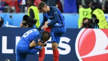 Французы обыграли исландцев и прошли в полуфинал Евро-2016
