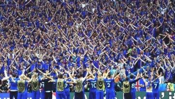 В Рейкьявике продали все футболки исландской сборной
