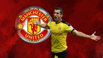 Мхитарян получит восемь миллионов евро за переход в «Манчестер Юнайтед»