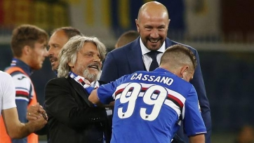 Массимо Ферреро: «Думаю, что для Кассано в «Сампдории» всё закончено»