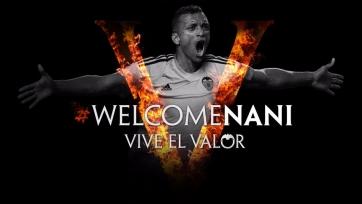 Официально: Нани продолжит карьеру в «Валенсии»