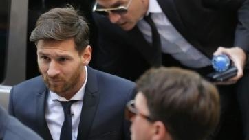 «Барселона» выступила со словами поддержки в адрес Месси
