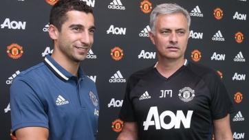 Официально: Мхитарян стал игроком «Манчестер Юнайтед»