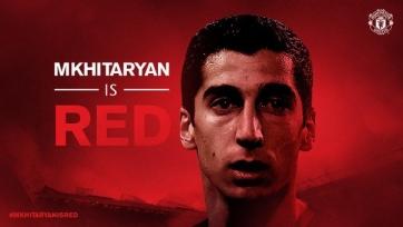 Мхитарян: «Переход в «Манчестер Юнайтед» - осуществление моей мечты»