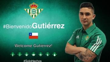 Официально: Гутьеррес перешёл в «Бетис»