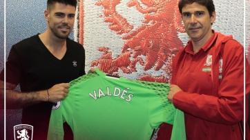 Официально: Вальдес стал игроком «Мидлсбро»