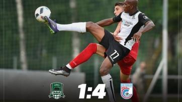 «Краснодар» потерпел крупное поражение от хорватского клуба