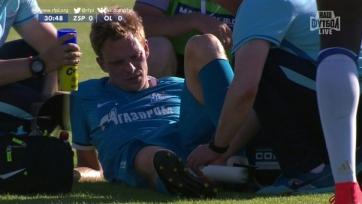 Могилевец получил травму в матче с «Лионом»