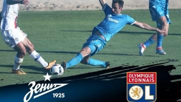 «Зенит» снова проиграл в товарищеском матчей, на сей раз «Лиону»