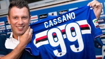 Антонио Кассано может продолжить карьеру в Серии Б