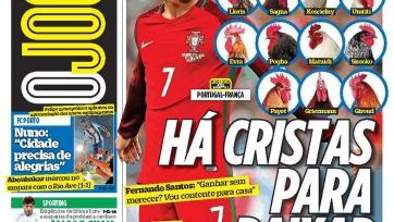 Авторитетное португальское издание проявило неуважение к французской сборной