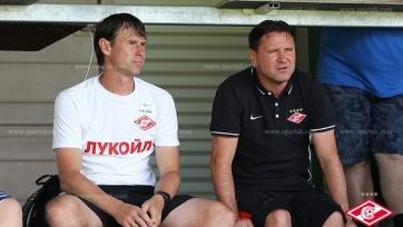 Аленичев: «По контрольным матчам я вижу, что ребята понимают всё то, что я от них хочу и требую»