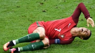 Криштиану Роналду заменён в финале ЧЕ, футболист «Реала» плакал, покидая поле