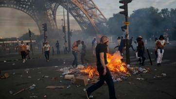 В Париже задержано около 40-ка фанатов