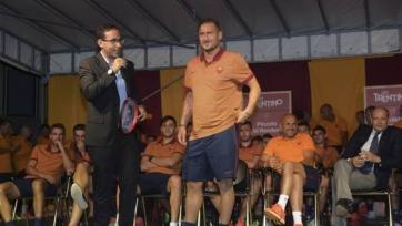Франческо Тотти: «Я остаюсь частичкой «Ромы» и хочу победить»
