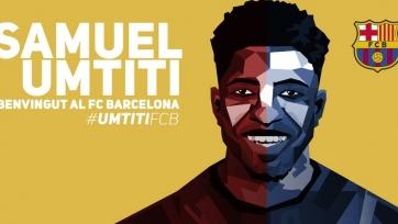 Официально: «Барселона» подписала Умтити