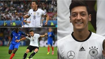 Немецкие болельщики признали Озила лучшим игроком Бундестим минувшего Евро