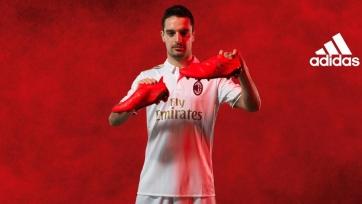 «Милан» представил новый комплект формы