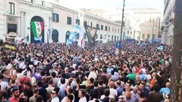 Болельщики «Лацио» вышли на манифестацию против Лотито