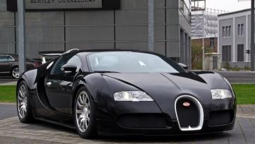 Роналду пополнил свою коллекцию автомобилей суперкаром Bugatti Veyron