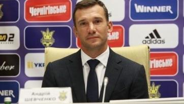 Шевченко: « Стать главным тренером национальной сборной Украины – большая честь»