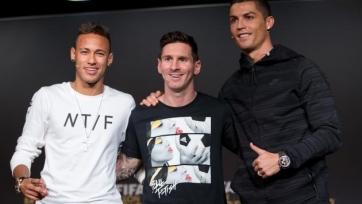 Неймар: «Роналду заслужил «Золотой мяч» по итогам текущего года»