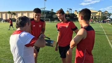Васкес уже тренируется в стане «Севильи»