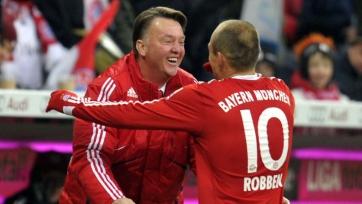 Роббен: «Основы игры нынешней «Баварии» заложил ван Гаал»