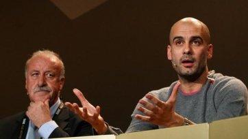 Дель Боске: «Гвардиола – лучший тренер на планете»