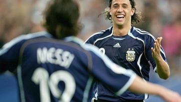 Креспо: «Месси не виноват в неудачах сборной Аргентины»