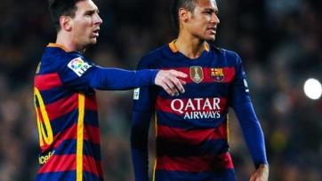 Роналдиньо: «Неймар показывает высокий уровень игры благодаря Месси»