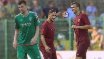 «Рома» обыграла «Терек» в товарищеском матче
