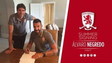 Официально: Негредо перешёл в «Мидлсбро» на правах аренды