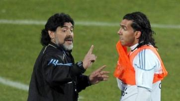 Диего Марадона: «Тевес уже не тот, что был раньше»