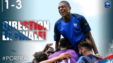 Сборная Франции отомстила португальцам в полуфинале Чемпионата Европы U-19
