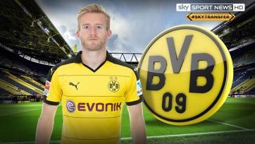 Официально: Шюррле продолжит карьеру в «Боруссии» Дортмунд
