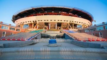 Строительство нового стадиона «Зенита» возобновится через два месяца