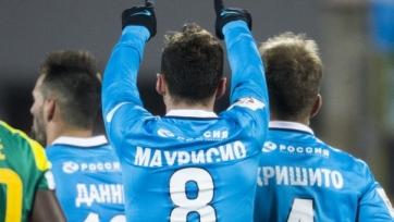 Хавбек «Зенита» Маурисио хочет получить российское гражданство