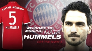 Хуммельс выбрал себе номер в «Баварии»